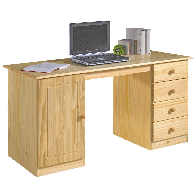 Schreibtisch MANAGER Kiefer massiv natur lackiert bestellen