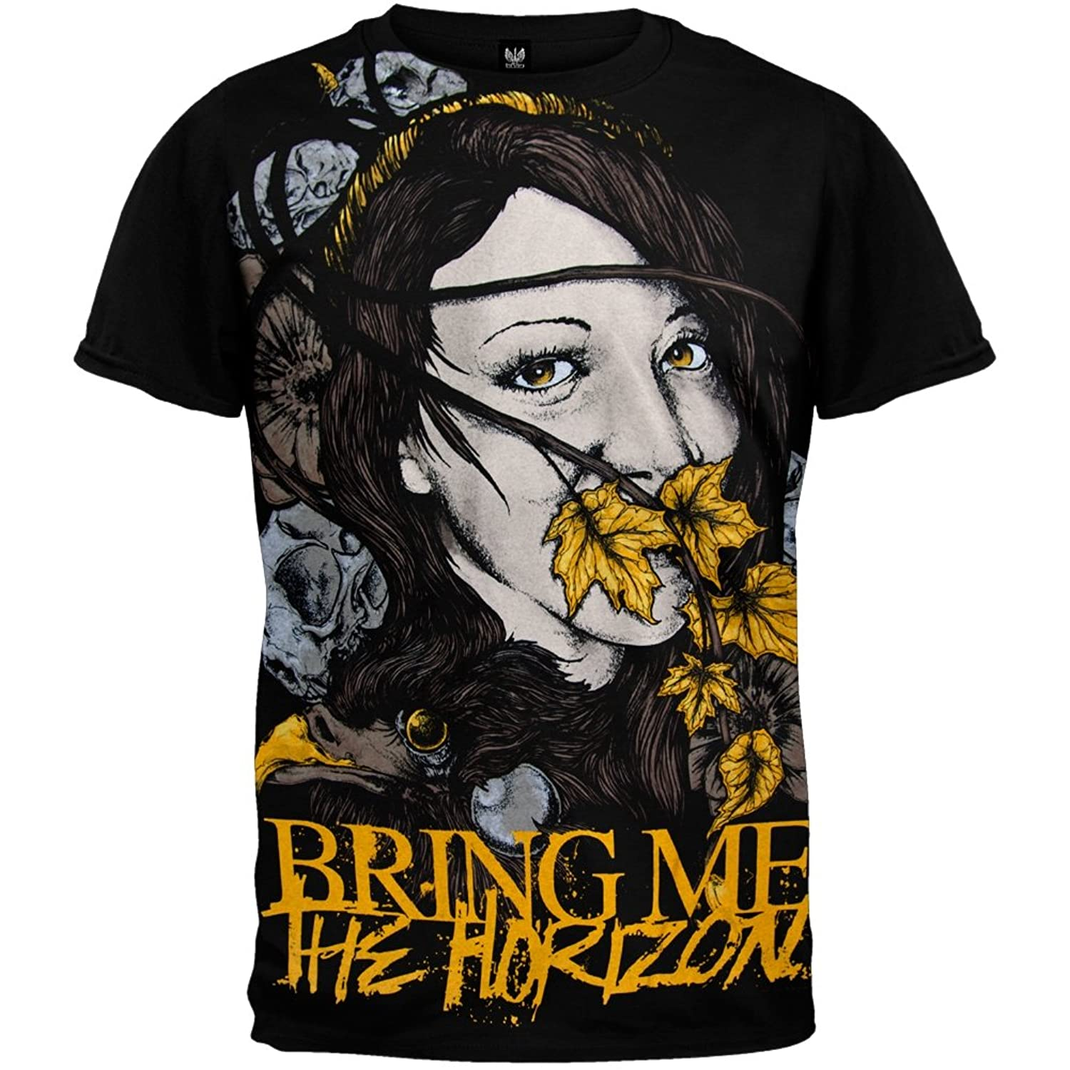Bring Me The Horizon Shirt Hot Topic Bring Me The Horizon - Lady Of