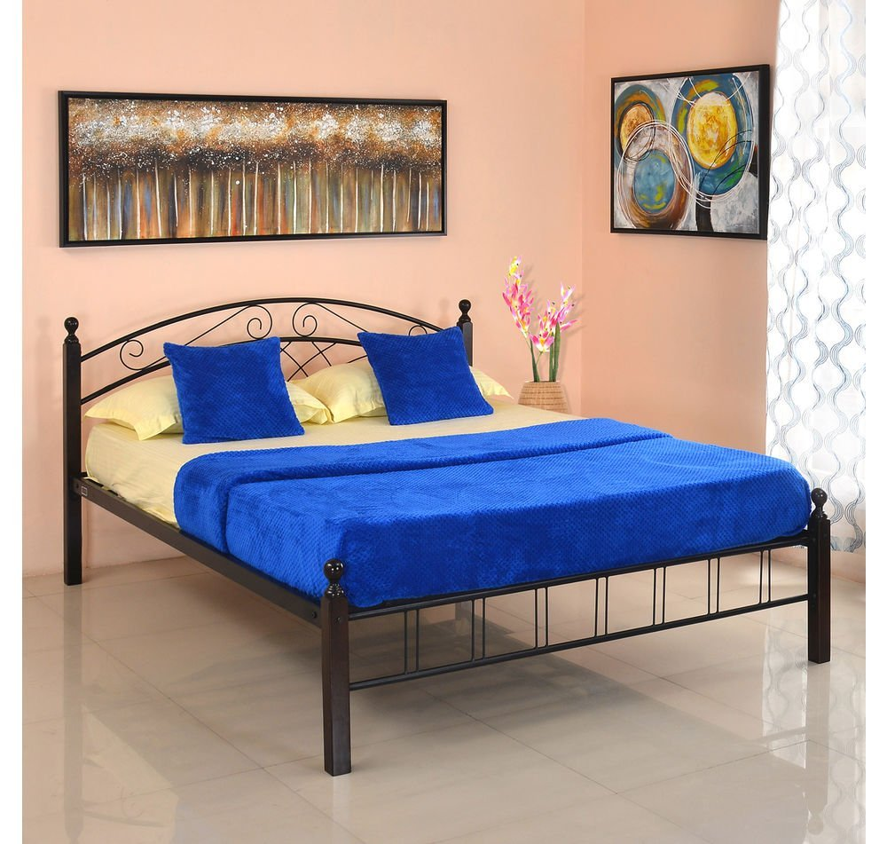 @home By Nilkamal Nimbo Queen Size Bed Without Storage