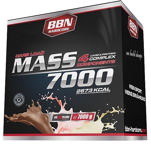 BBN Hardcore Mass 7000 - 4 Carb und Protein Complex French Vanilla, 1er Pack (1 x 7 kg)