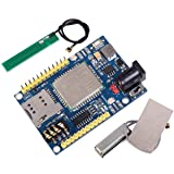 Makerfocus A7 GSM GPRS GPS Module 3 in 1 Module Quad Band GSM/GPRS IPEX Antenna DC 5-9V Support Voice Short Message for Arduino STM32 51 Microcontroller MCU