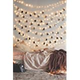 20 LED Photo Clip String Lights Home Decor Indoor/Outdoor, Battery Powered String Lights Lamp for Home/Party/Christmas Decoration Christmas Birthday Wedding Party Festival Decor (Warm White) (Color: 20 Lights)