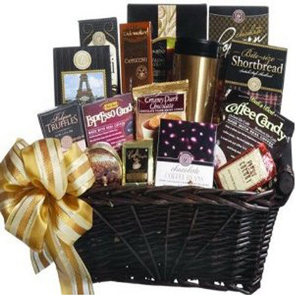 Coffee lovers gift basket top pre made baskets