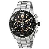 Bulova 98B244 Mens Sea King UHF Steel Chronograph Watch (Color: Silver)