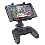 Switch Pro Controller Clip Mount for Nintendo Switch/Switch Lite, OIVO Adjustable Clip Clamp Holder Mount for Nintendo Switch Pro Controller