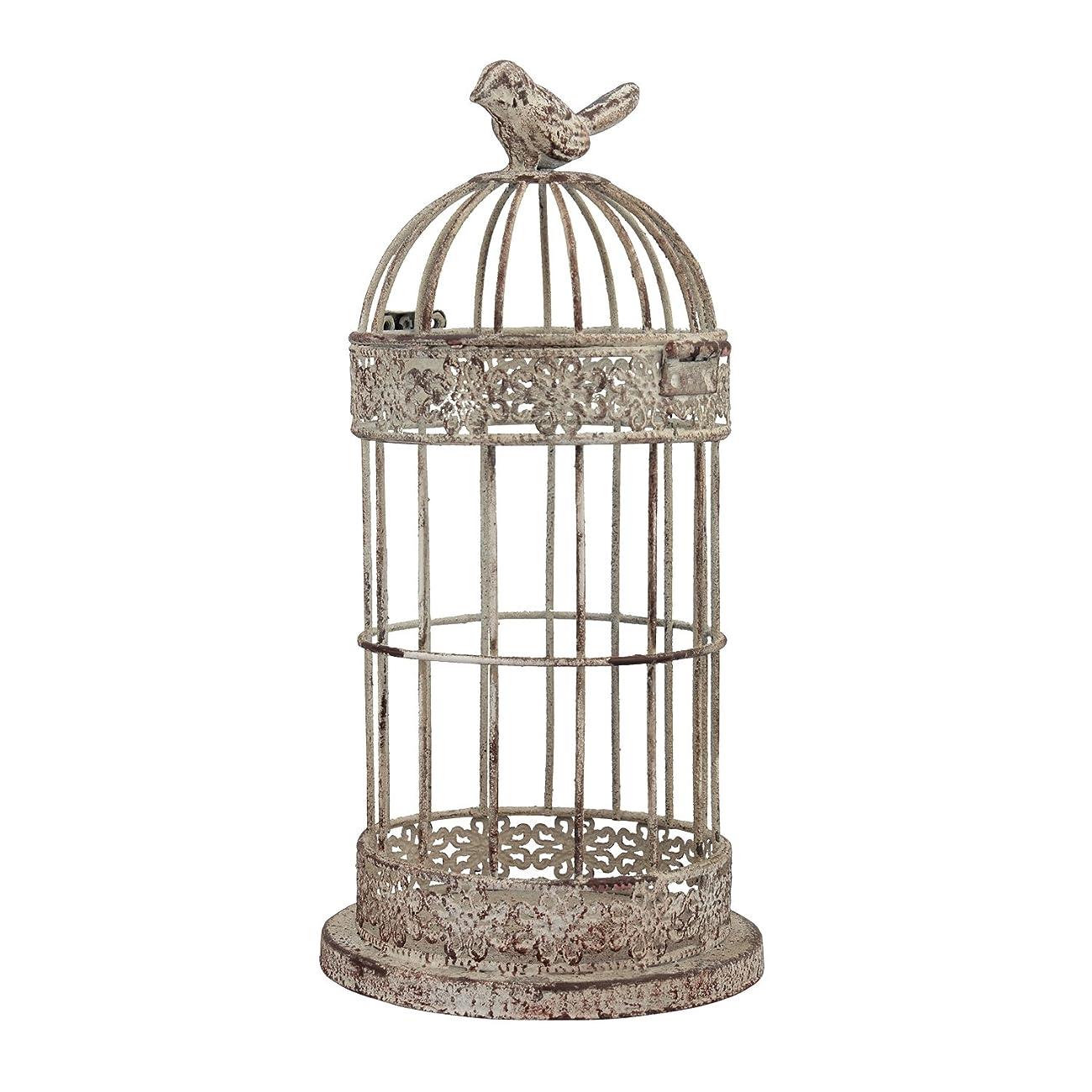 Stonebriar SB-5053A Small Aged Wire Bird Cage 0