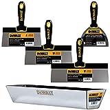 DEWALT Stainless Steel Taping Knife & Mud Pan Set + FREE BONUS 6