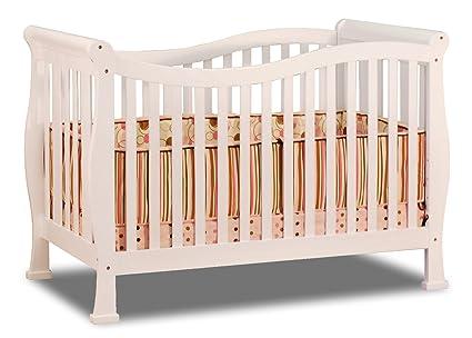 Athena Nadia 3 in 1 White Crib