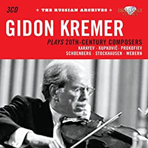 Russian Archives: Kremer Plays 20th Century Composers