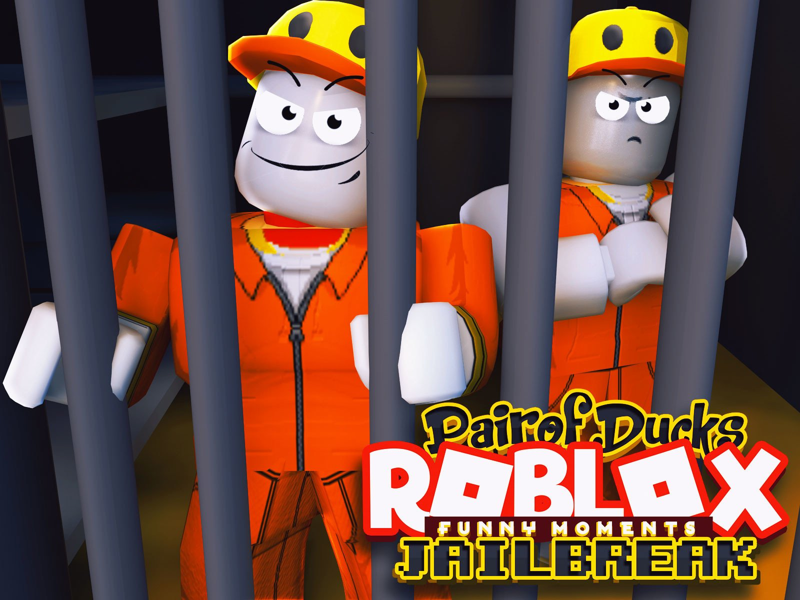 Roblox Jailbreak (PairOfDucks Funny Moments)