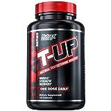 Nutrex Research T-Up | Testosterone & Libido Booster, D-Aspartic Acid, Zinc, B6, B12 | 120 Capsules (Tamaño: 120 Capsules)