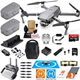 DJI Mavic 2 Pro Drone Quadcopter and Fly More Kit Combo with 3 Batteries, Hasselblad Camera Gimbal Bundle with Must Have Accessories (Tamaño: Mavic 2 PRO)