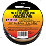 Forney 42300 Flux Core Mig Wire, Mild Steel E71TGS.030-Diameter, 2-Pound Spool (Color: Red, Tamaño: Pack of 1)