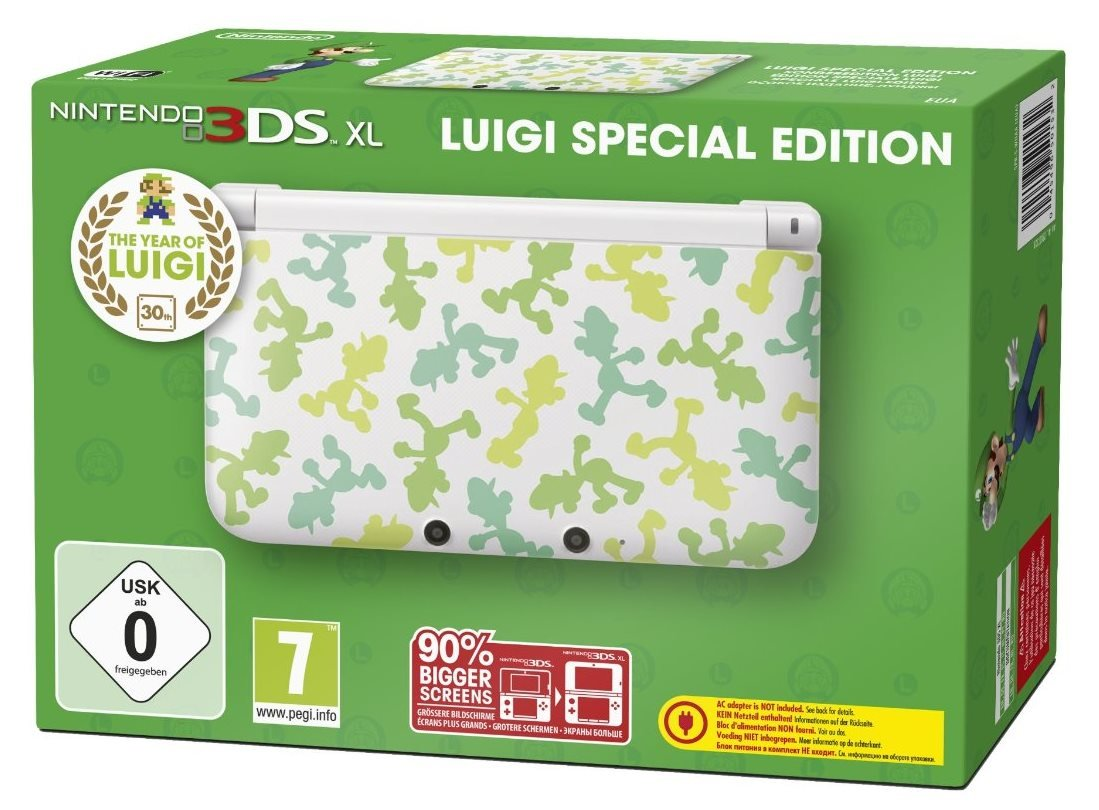 Nintendo 3DS XL - Luigi Limited Edition