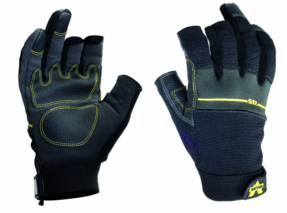 Open Finger Work Gloves