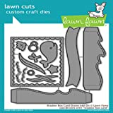 Lawn Fawn Lawn Cuts Custom Craft Die - LF1705 Shadow Box Card Ocean