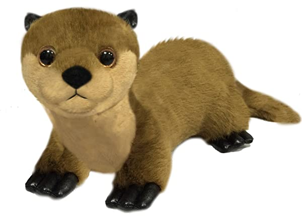 First & Main 7 Floppy Friends Brown Otter Basic Plush Toys (Tamaño: 7 inches)