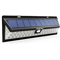 Mpow 54 LED Security Garden Solar Wall Light