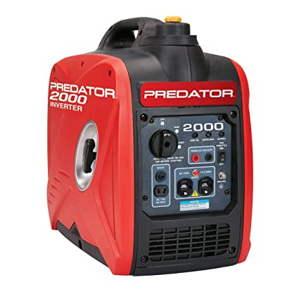 2000 Peak/1600 Running Watts, 2.8 HP (79.7cc) Portable Inverter Generator CARB & EPA III
