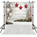 OUYIDA Christmas Theme 5X7FT Seamless CP Pictorial Cloth Photography Background Computer-Printed Vinyl Backdrop SD768C (Color: Sd768, Tamaño: 5X7FT)