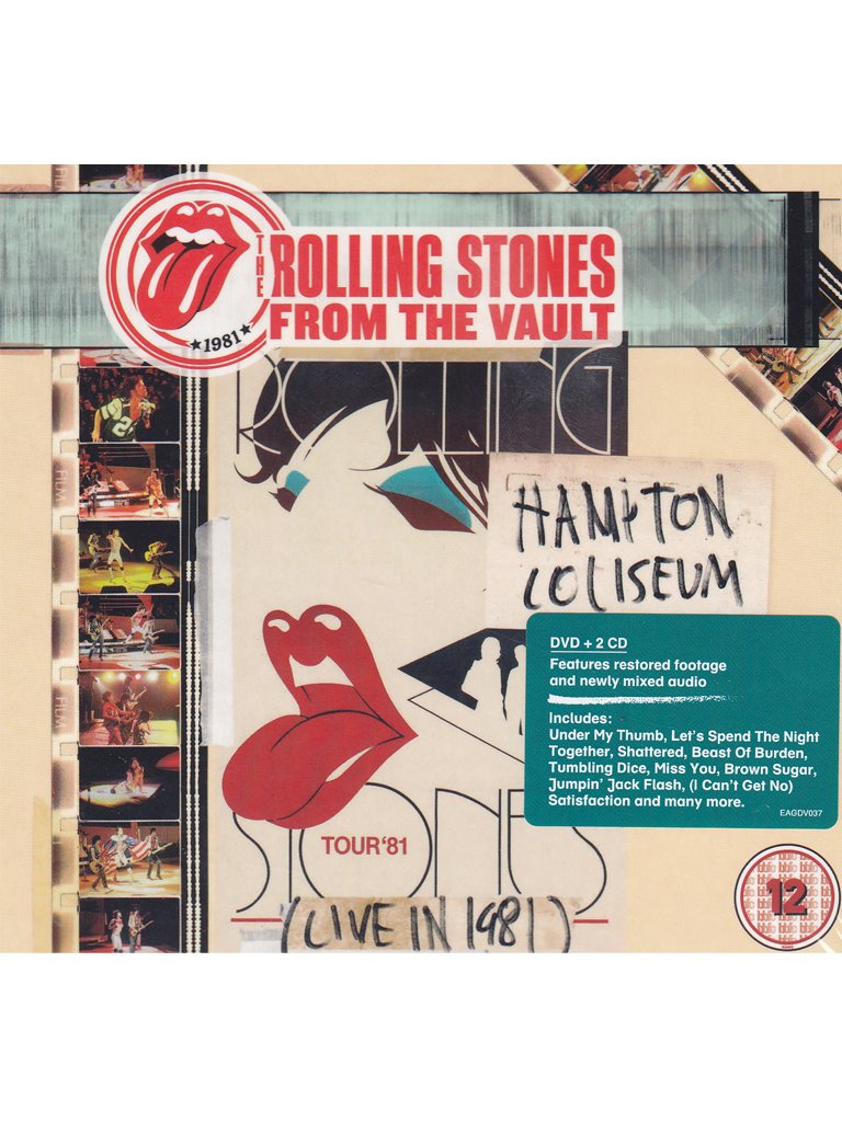 The Rolling Stones-From The Vault Hamilton Coliseum (Live In 1981)-2CD-2014-DLiTE Download