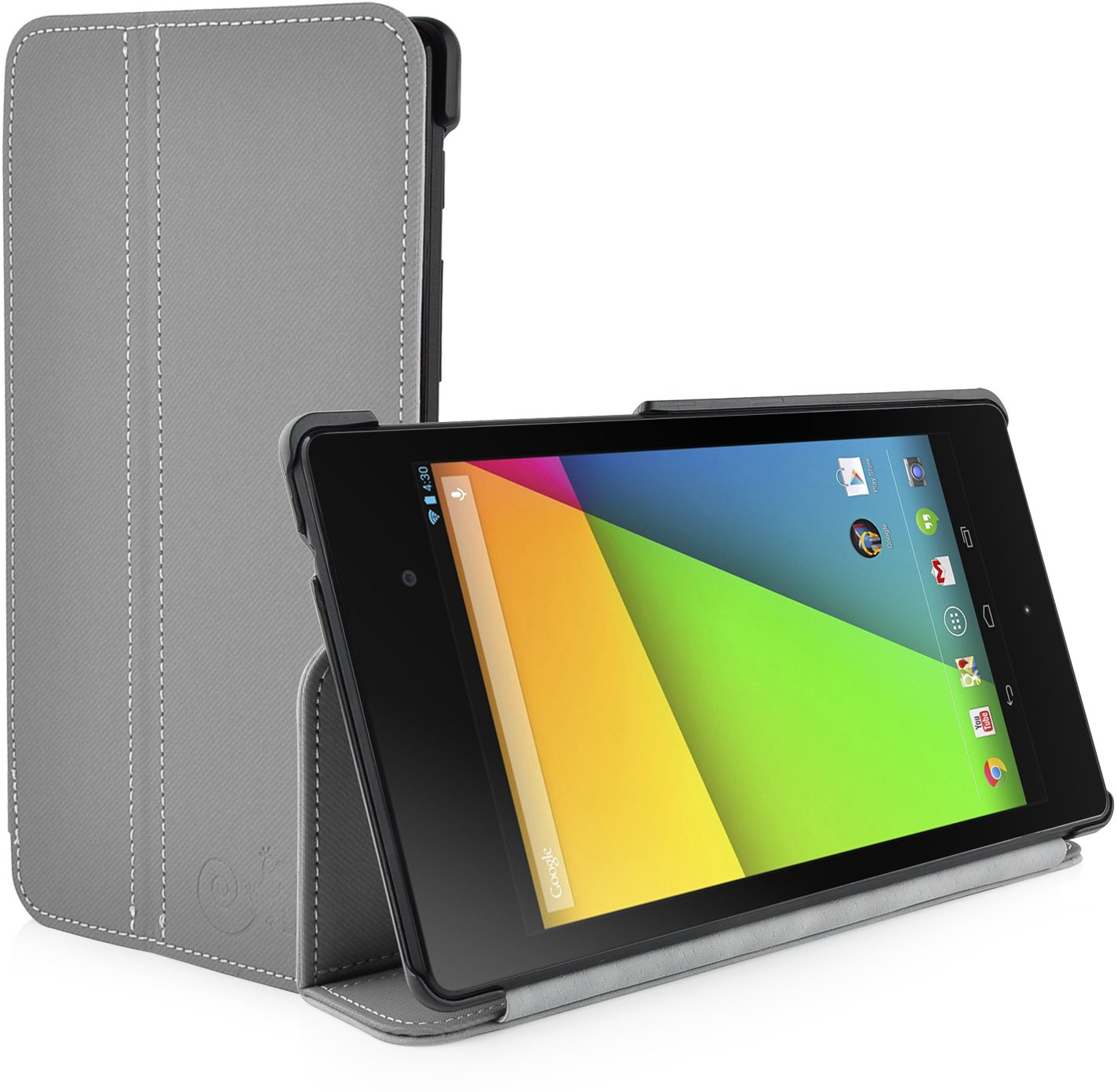 ViTA Grey Ultra Slim Full Body Smart Case for The New Nexus 7 2013 (2nd Generation) with Full Sleep Wake compatibilityCustomer review and more information