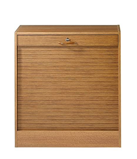 SIMMOB niort082ci carpeta de cortina madera roble rústico 36x 70x 76,40cm)