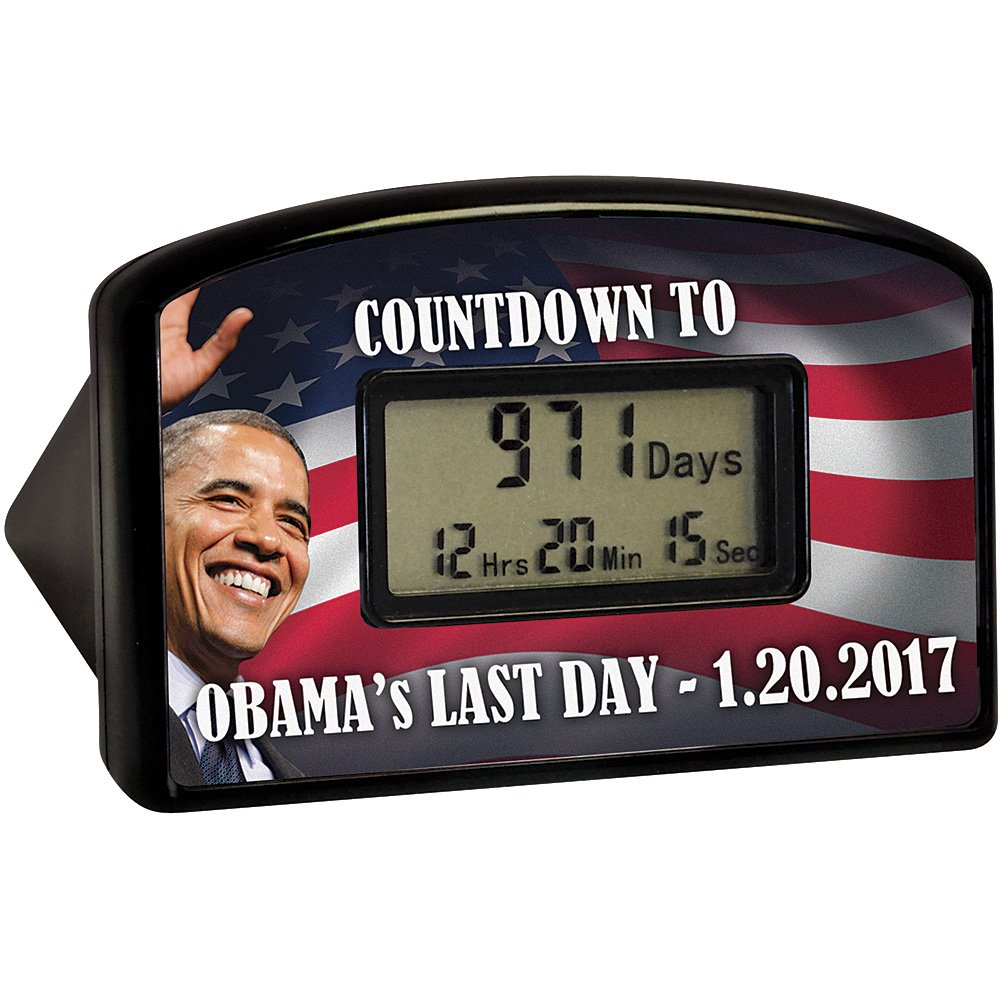 Barack Obama Countdown Clock