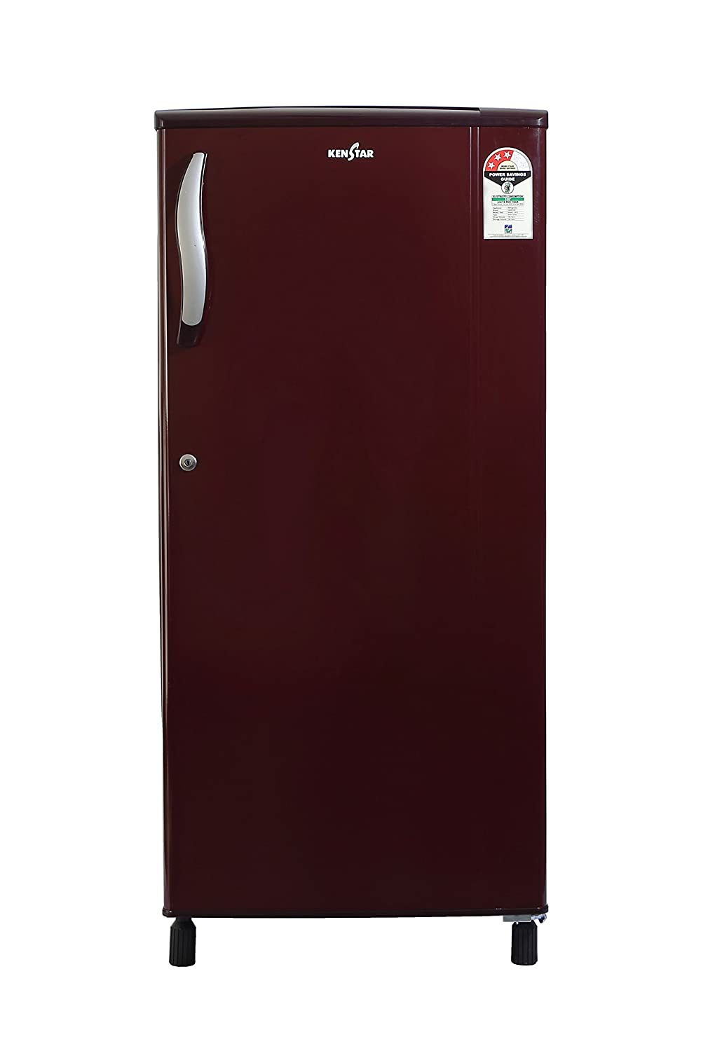 Kenstar NH203EBR-FDA Direct-cool Single-door Refrigerator (190 Ltrs, 3 Star Rating, Burgundy Red)