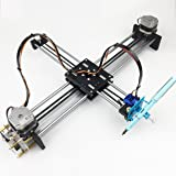 Robot House Metal Drawing Robot Kit Writer XY Plotter iDraw Hand Writing Robot Kit Based on 3D Printer Corexy or Hbot Structure Support Laser Engraving- A4 Working Area (Color: A4 Working Area, Tamaño: Metal Version)