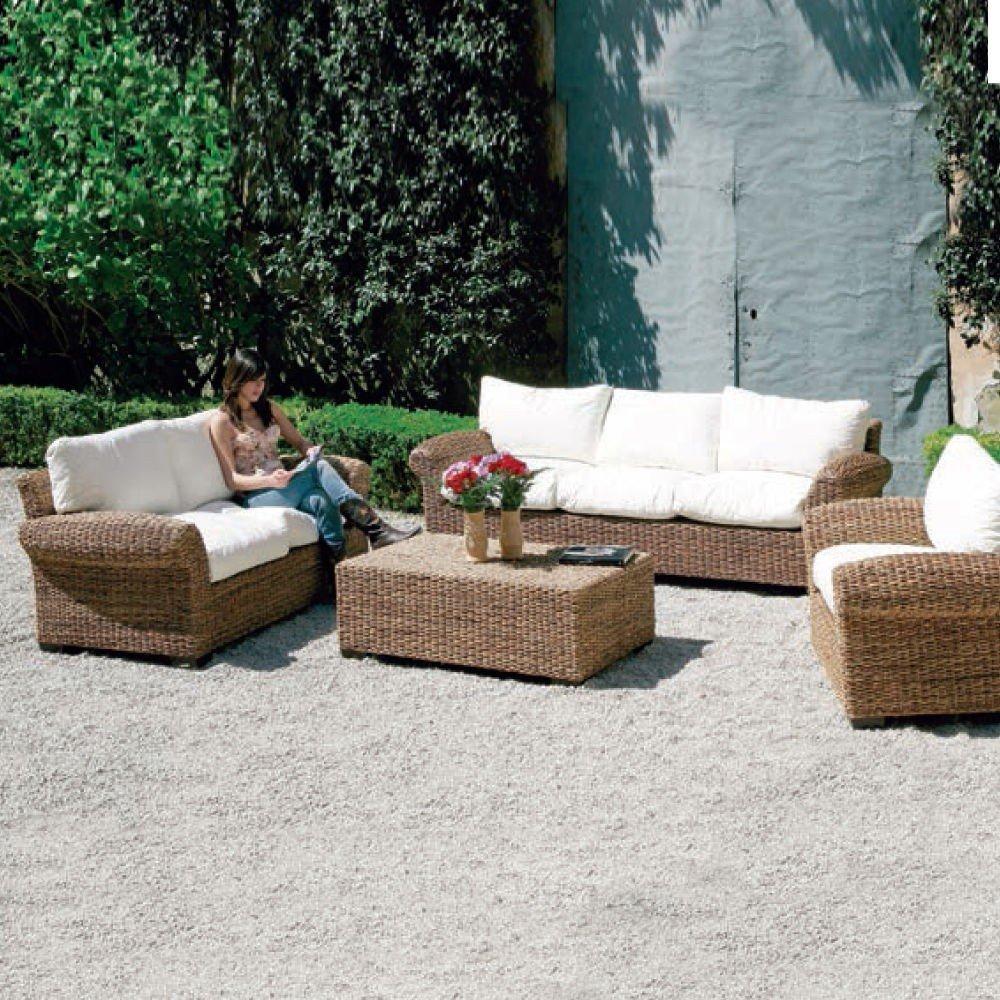 Sessel Faser natuarale von Gartenmöbel für den Außenbereich
