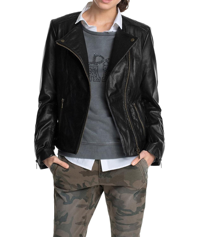 ESPRIT Collection Damen Lederjacke kaufen