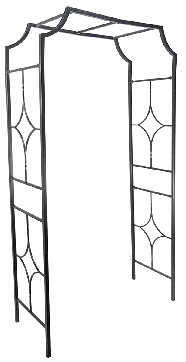 "Gardman R978 Blacksmith Arch, Black, 48"" Wide x 89"" High x 20-1/2"" Deep"
