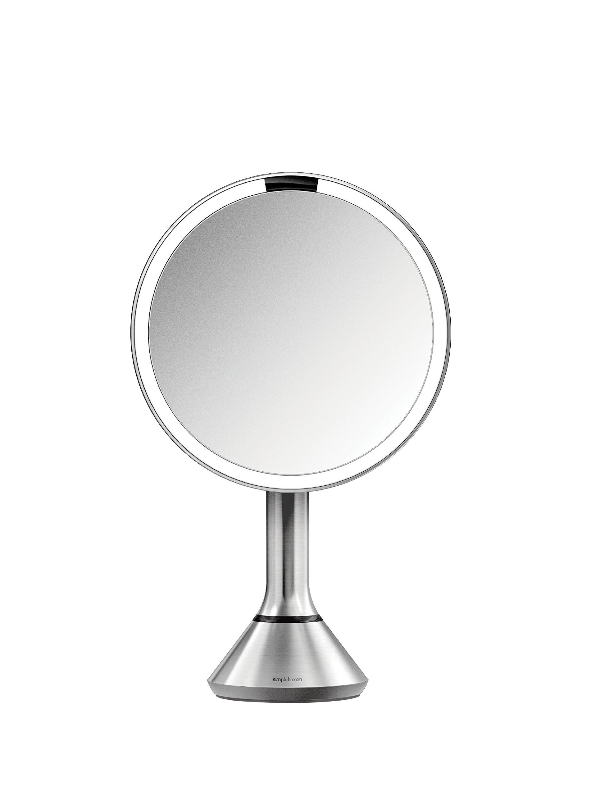 Galleon - Simplehuman Sensor Mirror - Sensor-Activated Lighted Vanity Mirror, 5x Magnification ...