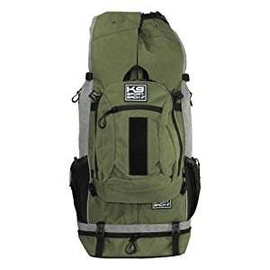 K9 Sport Sack | Dog Carrier Backpack for Small and Medium Pets | Front Facing Adjustable Pack with Storage Bag | Fully Ventilated | Veterinarian Approved (X-Large, Rover - Green) (Color: Rover - X-Large / Green, Tamaño: X-Large)