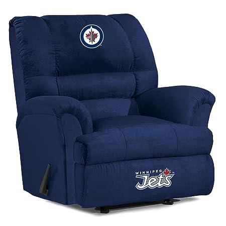 NHL Winnipeg Jets Big Daddy Microfiber Recliner