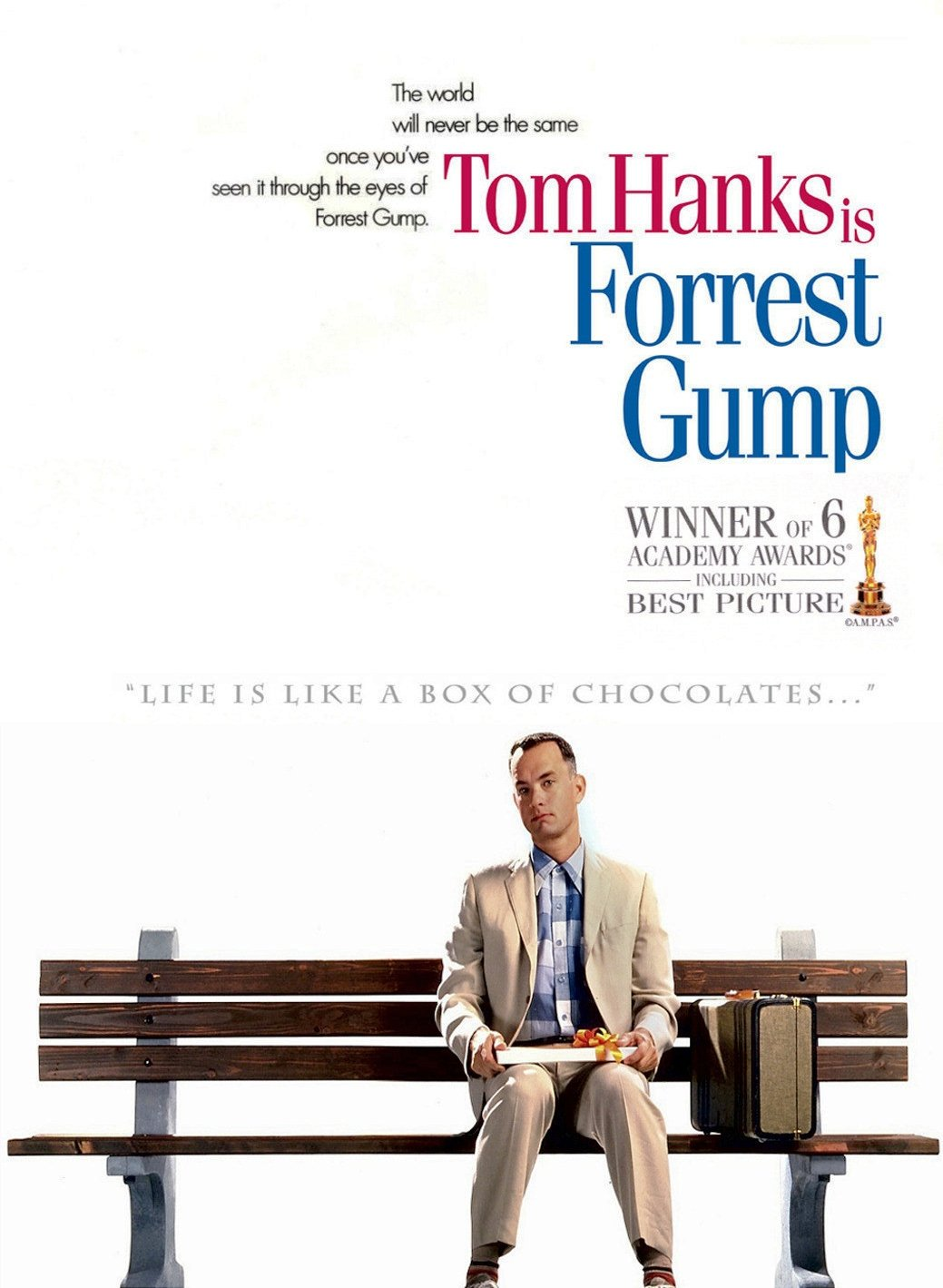 FORREST GUMP MOVIE POS...