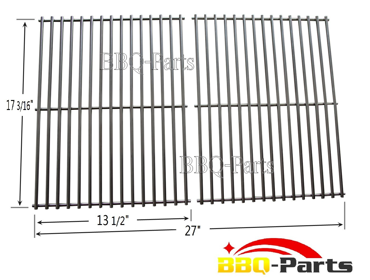 Bbq parts sci stainless steel rod cooking grid