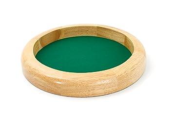 Smir - 525435 - Jeu de Cartes - Piste en bois naturel 30 cm