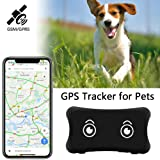 YangtongLK GPS Pet Tracker, Real Time Dogs Cats Locator Finder - Waterproof|Alarm|, Security Fence|Remote Monitoring - Fits for All Android iOS Devices