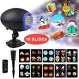 LITSPED Christmas Lights,Christmas Projector Light Outdoor,6W Waterproof Outdoor Christmas Animated Projector Light for Holiday Birthday Thanksgiving Party Use (Color: Multicolor)