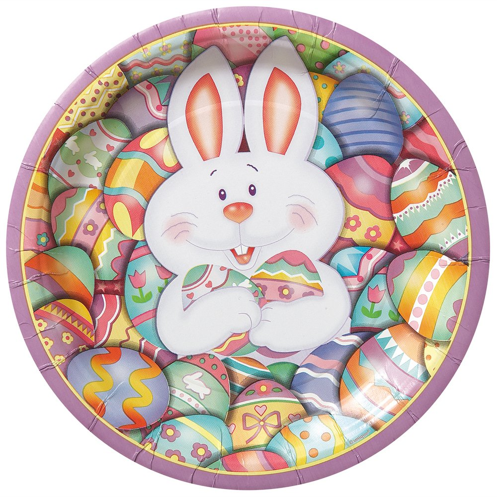 12 Adorable Paper Plate Easter Crafts