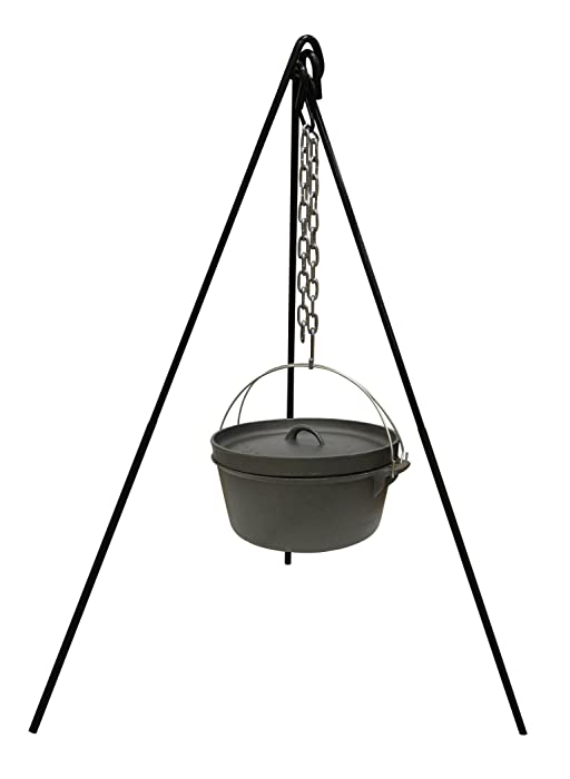 Cast Iron Cooking Tripod