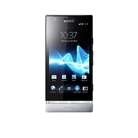 Vodafone Sony Xperia P Kumquat -silber- LT22i
