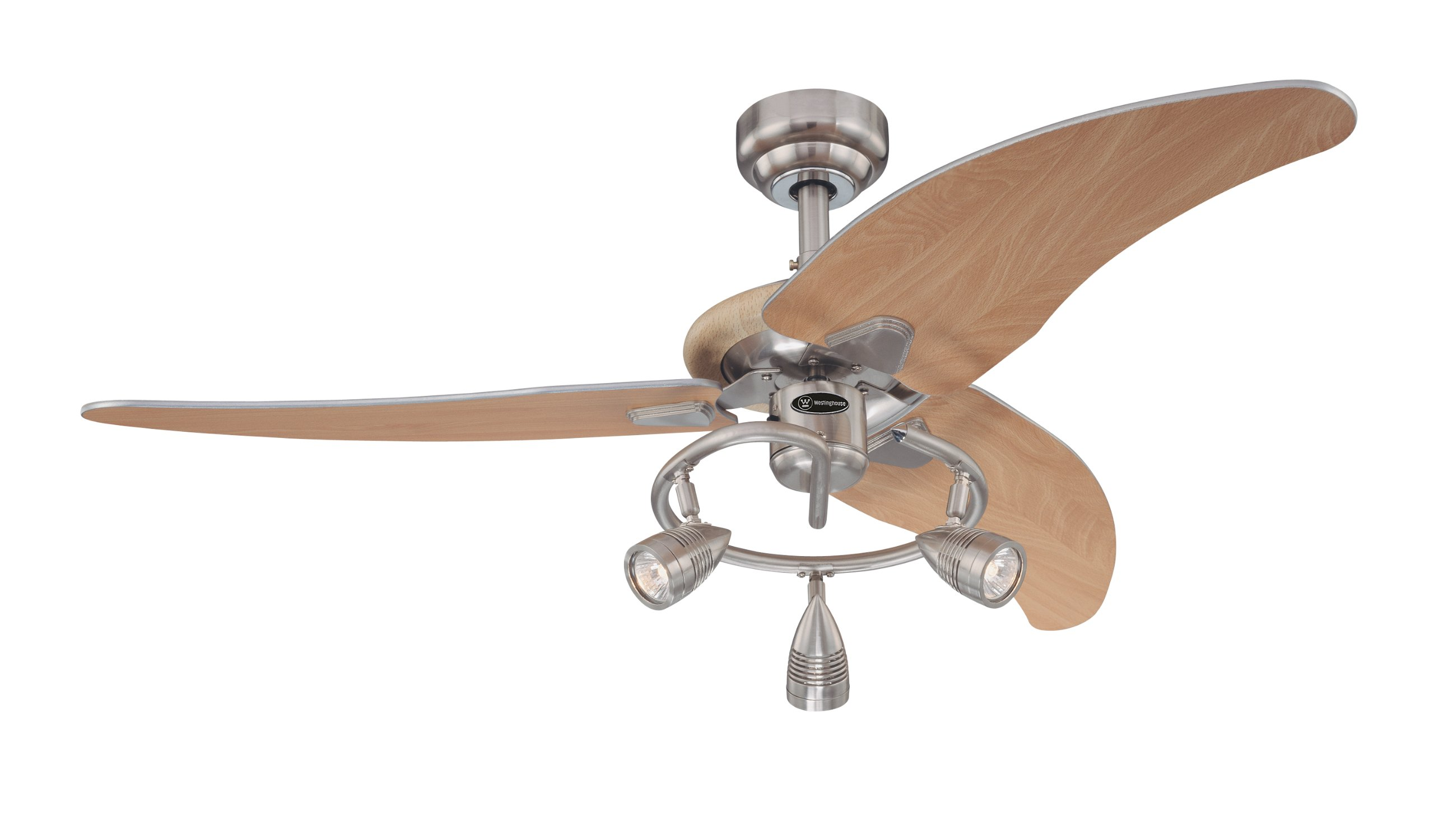 westinghouse 7850500 elite three light 48 inch three blade indoor ceiling fan ebay. Black Bedroom Furniture Sets. Home Design Ideas