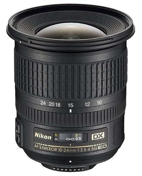 Nikon AF-S DX 10-24 mm f/3.5-4.5 Objectif + Etui CL-1118 + Parasoleil HB-23