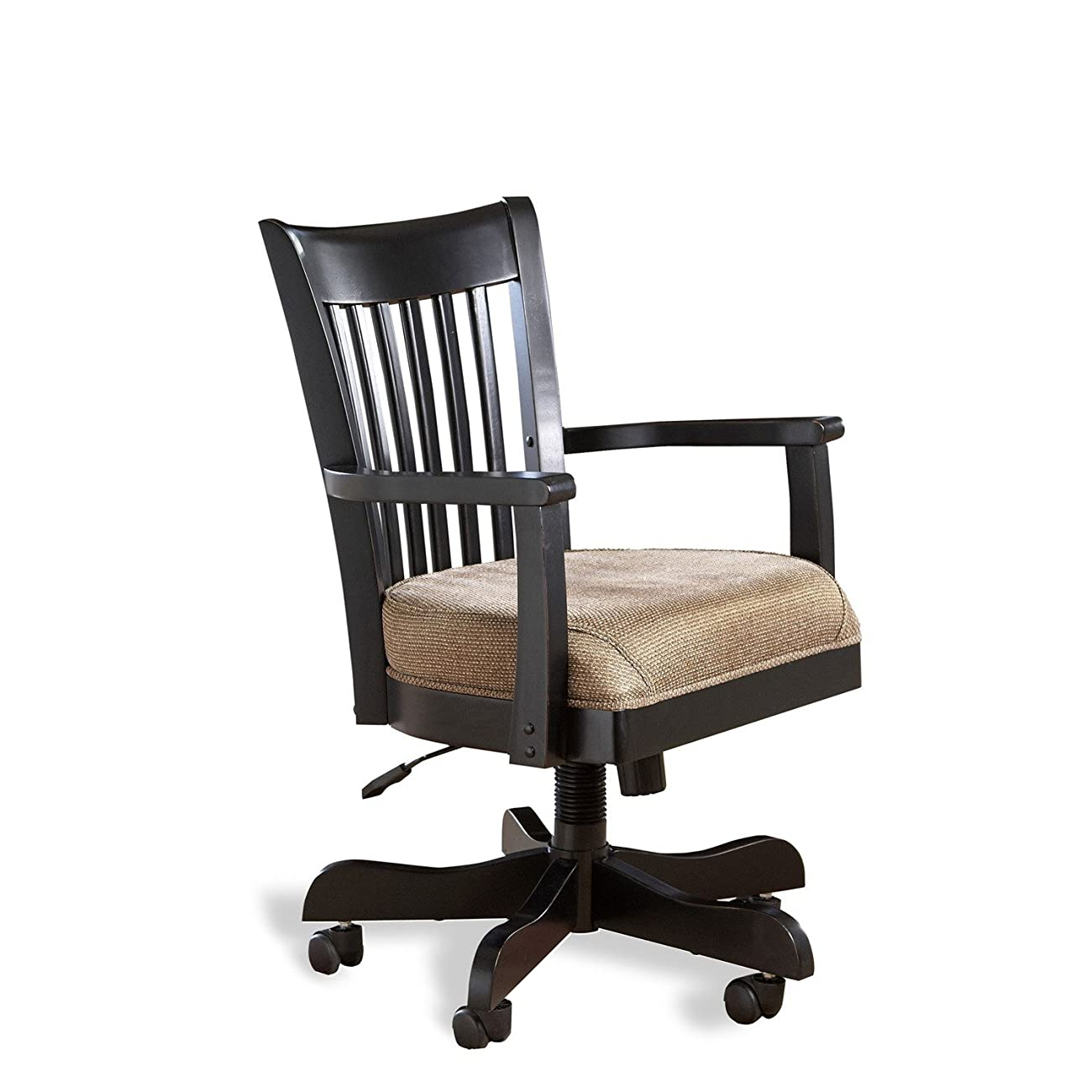 Bridgeport Desk Chair in Antique Black Finish 0