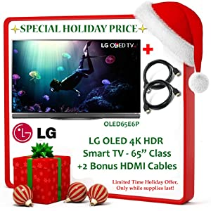 black friday deal brand new lg b6 oled 4k hdr smart tv 55 class 2 bonus hdmi cables. Black Bedroom Furniture Sets. Home Design Ideas