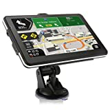 "Car GPS Navigation System,GPS SAT NAV 7"" HD Voice Prompt System,GPS Navigator,Tvird Vehicle GPS Navigation with USB Cable and Car Charger,Extend 32GB Memory,Lifetime Free UPDAET MAP (Tamaño: M)"