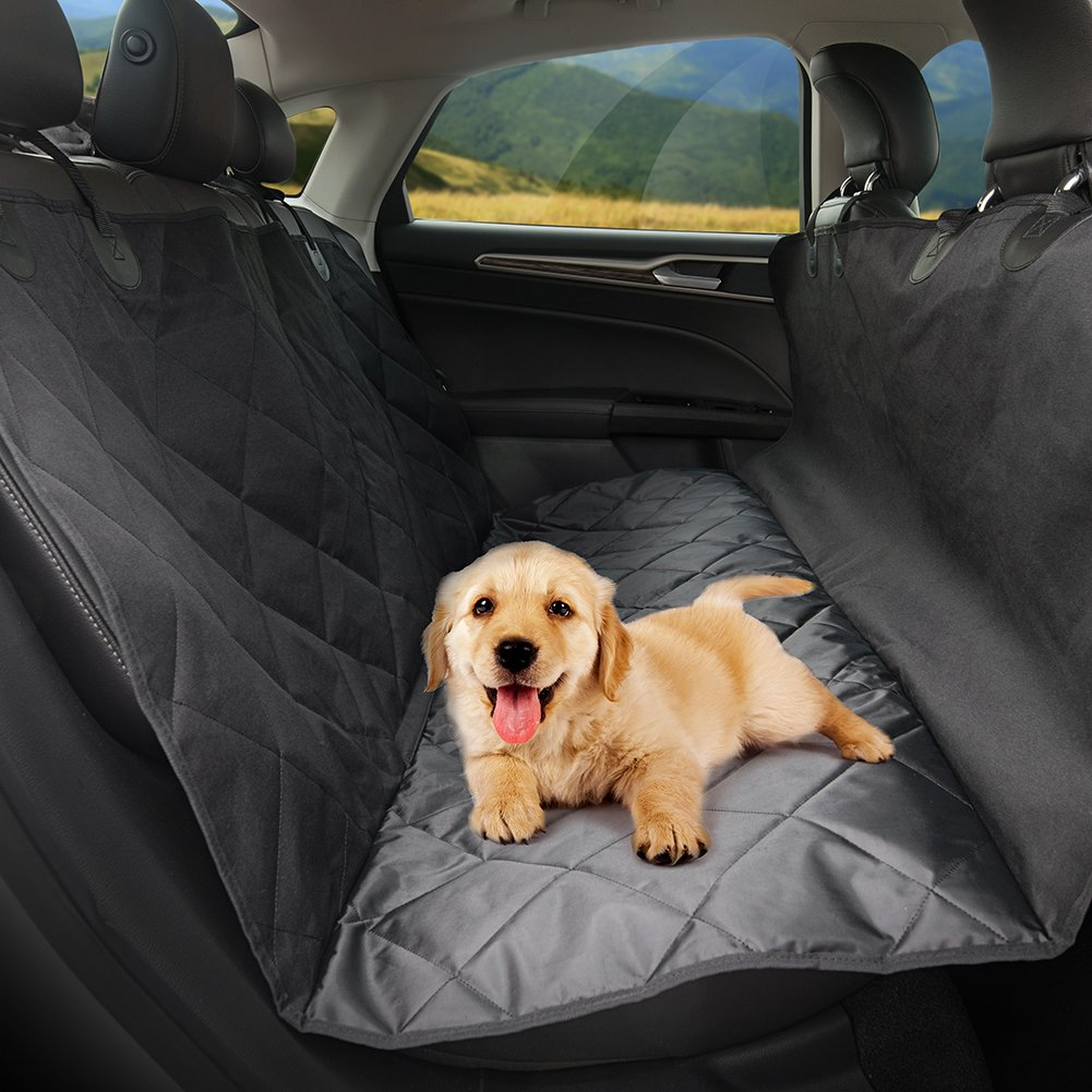 Dog Seat Cover for Cars, TaoTronics Pet Car Seat Covers , Dog Hammock, Slip-proof, Waterproof